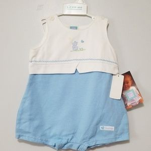 NWT Adorable Little Me Blue Onsie